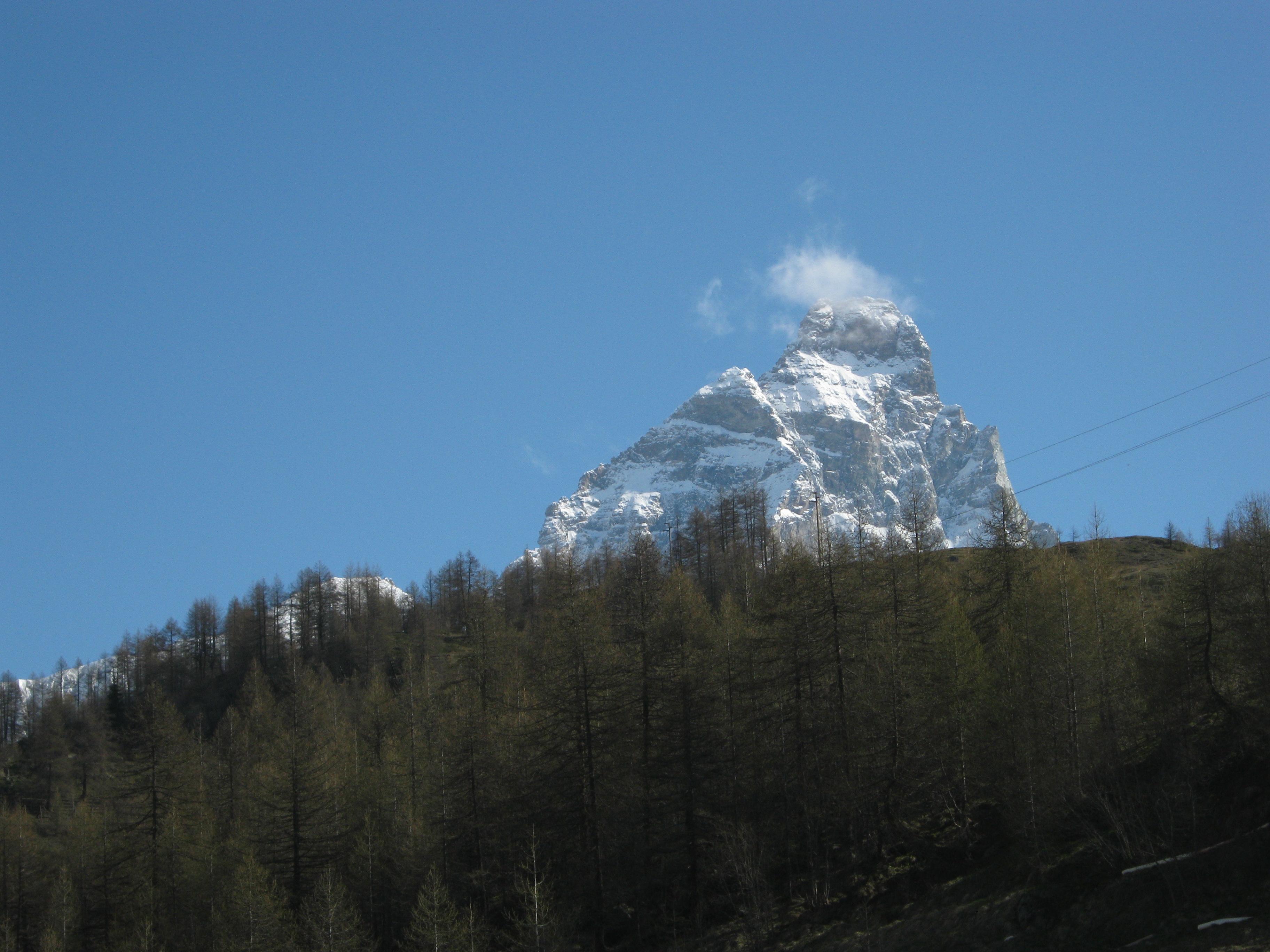 First site of the Matterhorn