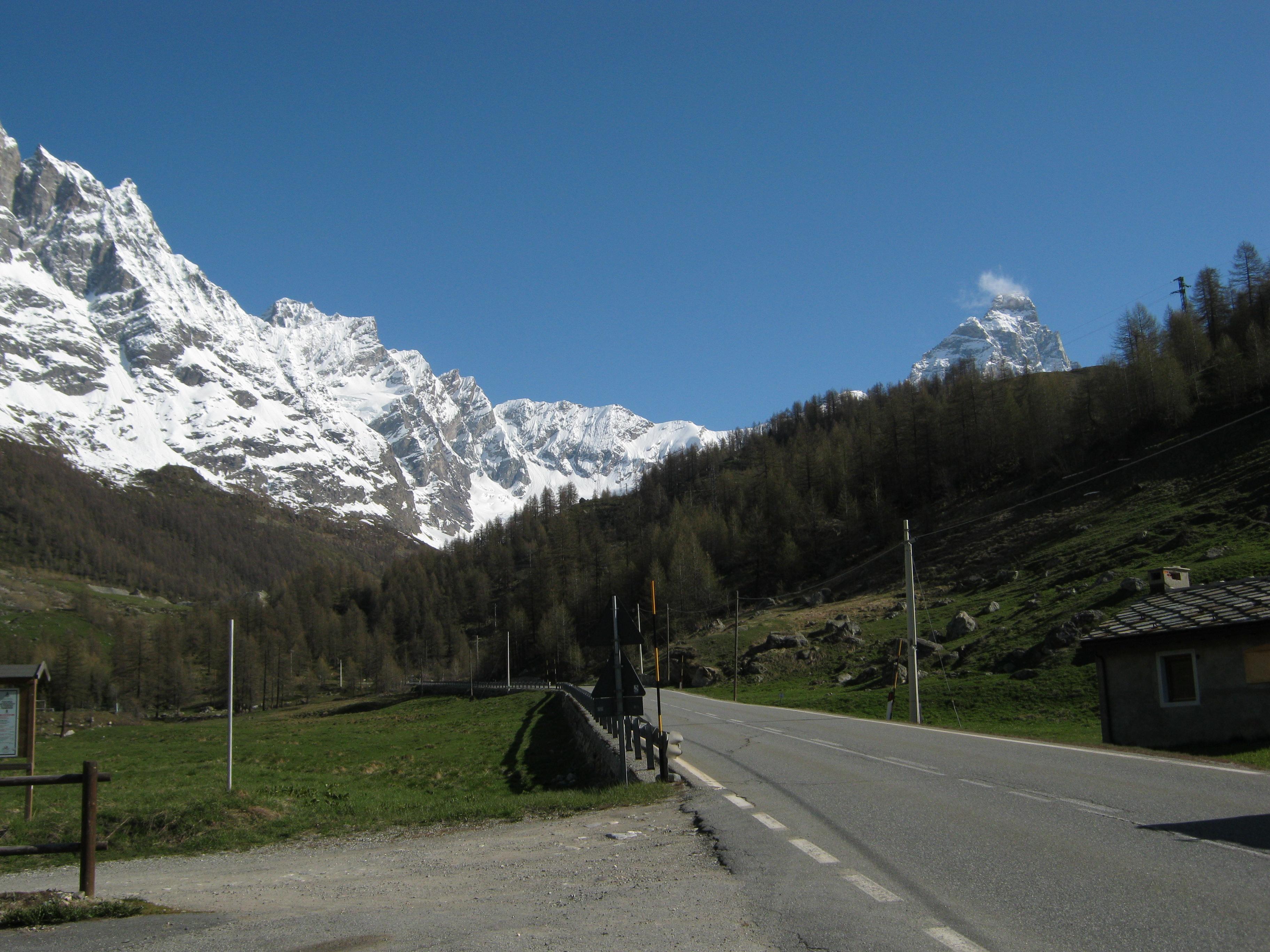 Road to Cervinia