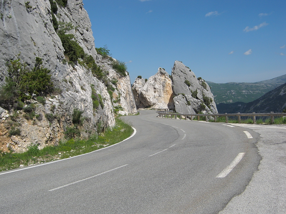 D2 near Greolieres