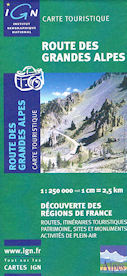 Great Alps Route Map
