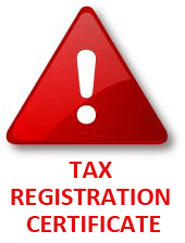 Tax Registration Certificate While Riding Across Europe