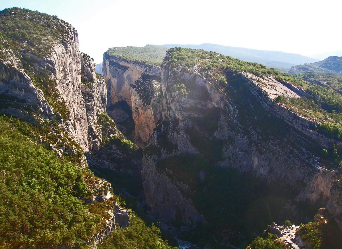 Parc naturel regional du Verdon - природный заповедник Вердон, Вердонское ущелье (Gorges du Verdon)