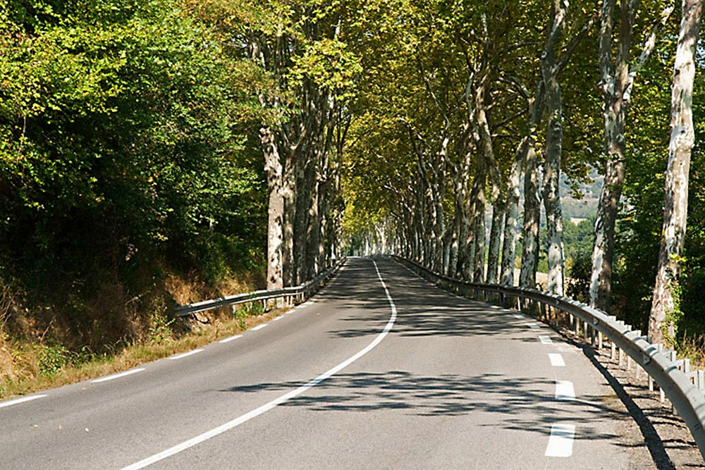 D118 south of Limoux