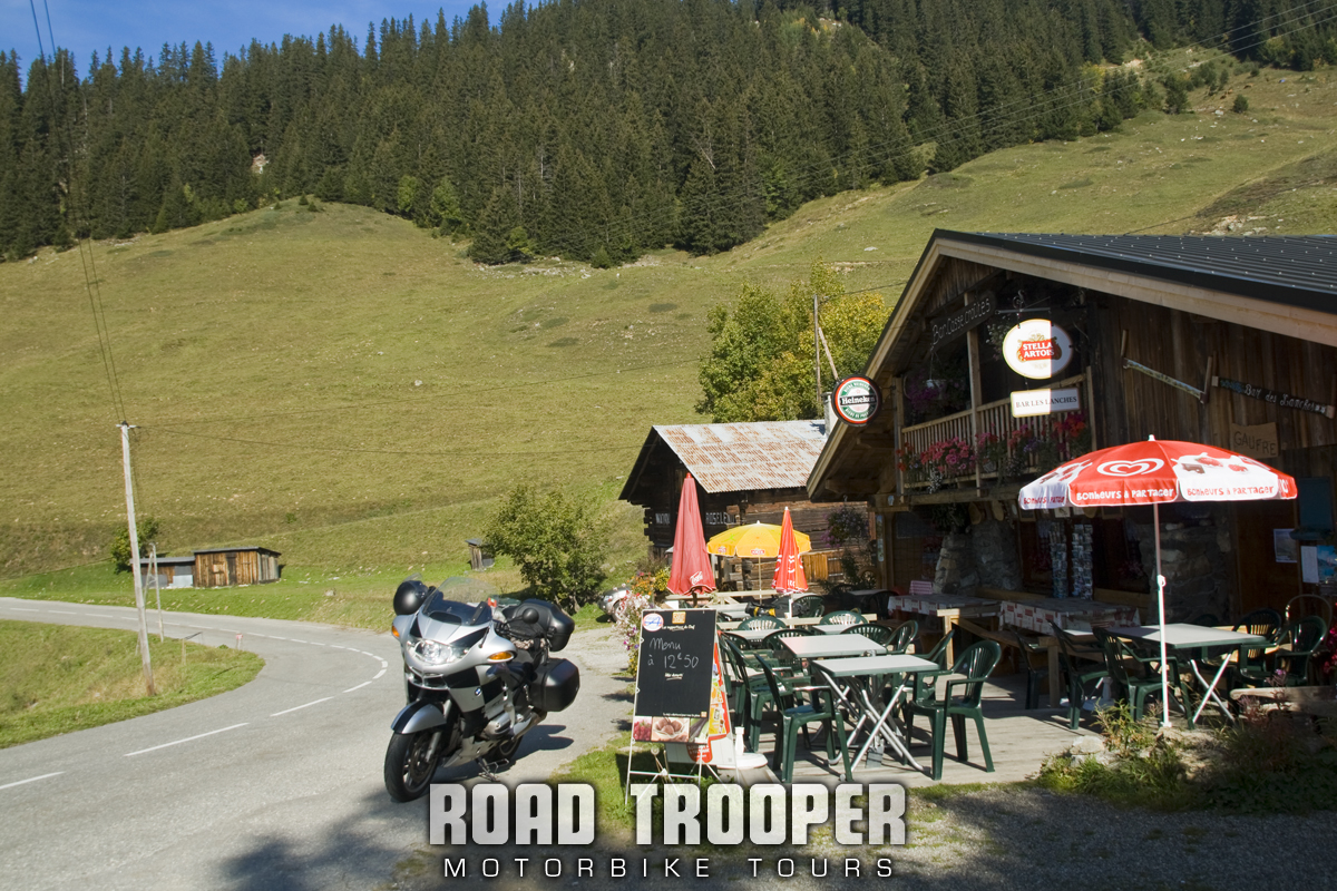 2011 Alps Tour - Lac de Roselend Coffee Stop