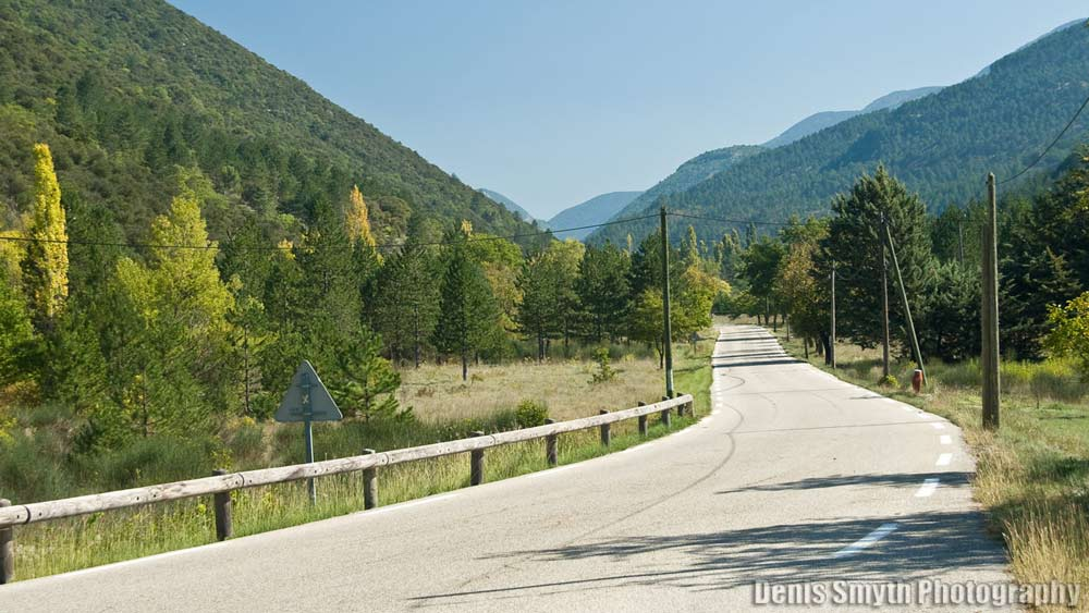 Roads around Mt. Ventoux and Les Dentelles near Sainte-Cécile are magic!
