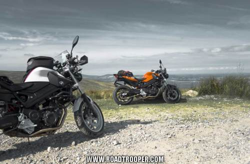 BMW F800Rs In Wicklow Mines The Orange Beauty