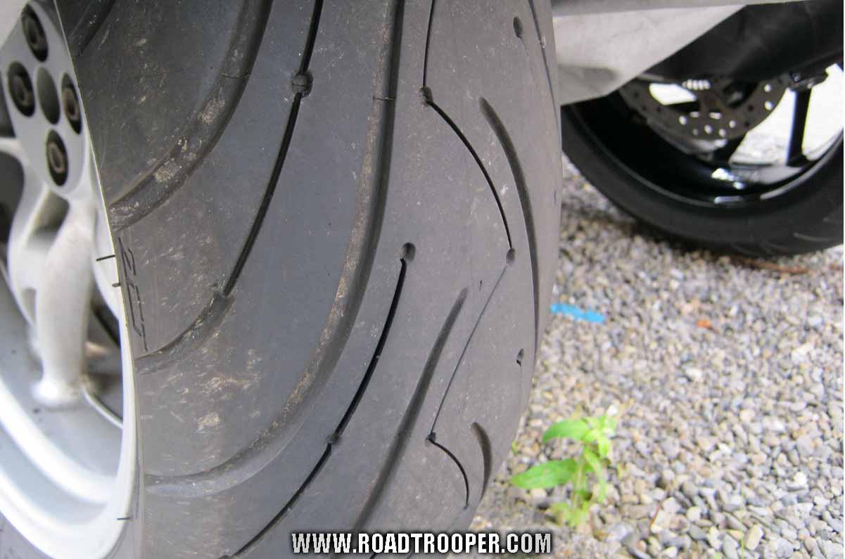 Michelin Pilot Rear Tire