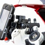 iPhone Protective Case mounted on a Bike - Click to Scale Up